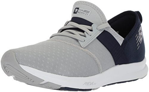New Balance Women's Nergize v1 Fuelcore Cross Trainer, Silver Mink/Pigment, 8 B US