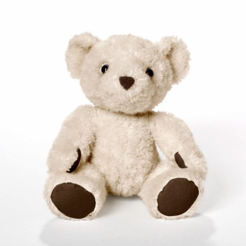 Bears For Humanity Baby Organic Beige Teddy Bear Plush Stuffed Animal. 7 Inches. One Is Donated To A Child In Need For Each One Purchased -