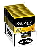 ChapStick Classic Lip Balm Skin Protectant Bulk, 12 Count, Regular Flavor, 0.15 Ounce