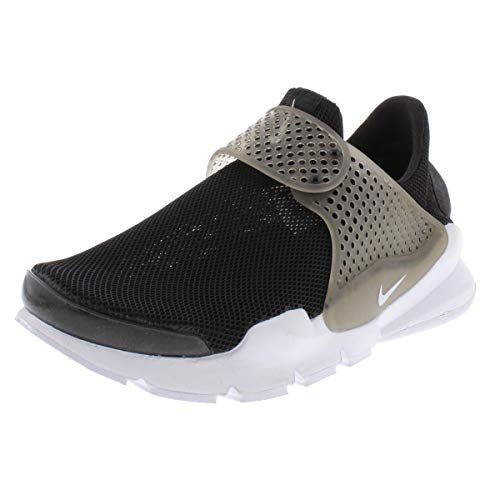 Nike Women's Sock Dart BR Black Synthetic-Leather Running Shoes 7