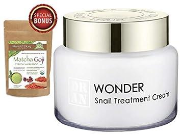 Intensive Snail Anti-Wrinkle Treatment Firming Moisturizer Cream Collagen Boost Scar Spots Repair Brightening Soothing 100g 3.5oz Momoko Story