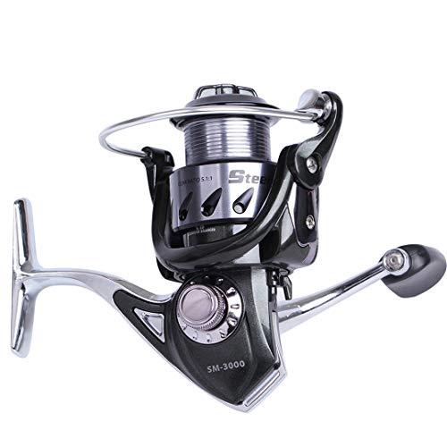 - KEHAINIU Man 3 5.1:1 2000 3000 4000 5000 6000 Spinning Fishing Reel 10+1 Ball Bearings with Max Drag Power 8 KG Fishing Reel 5000 Series 11