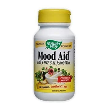 Mood Aid With 5-HTP and St. Johns Wort Natures Way ...