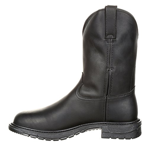 FLX Men's Original Oil Western Rocky Boot Ride Black Black SztnUqq