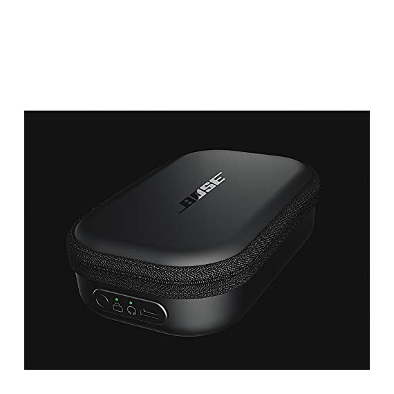 Bose SoundSport charging case 6 Micro USB for charging sound sport wireless or sound sport Pulse wireless headphones on the go.Wired Charging. Built-in rechargeable battery extends listening time up to 18 hours Compact, durable case protects your headphones as they charge