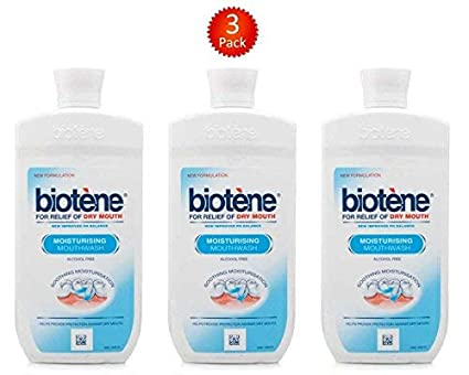 Biotene Hidratante enjuague bucal 500ml - Paquete de 3 ...