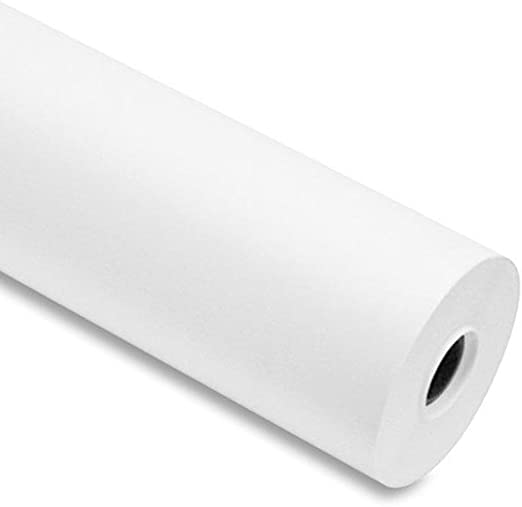 Papel para plóter, 90 g/m², 61cm x 50 m color blanco para Plotter EPSON y HP: Amazon.es: Hogar