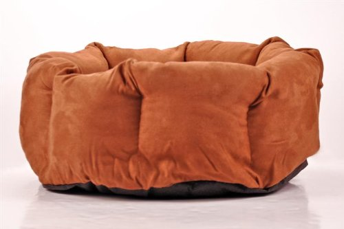 SNUGGLE CUP Dog and Cat Bed – Brown, My Pet Supplies