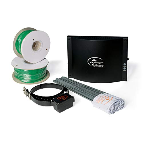 SportDOG Brand In-Ground Fence System - from the Parent Company of INVISIBLE FENCE Brand - Underground Wire Electric Fence - Tone, Vibration, & Shock - 100 Acre - Underground Fence Pet