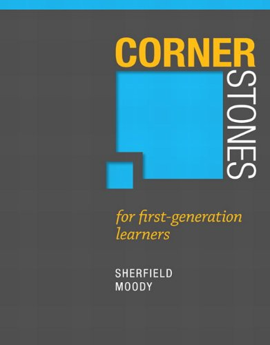 Cornerstones for First Generation Learners (Cornerstones Franchise)