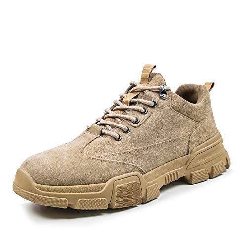 ForestBird Men's Steel Toe Safety Waterproof 100% Leather Work Boot …