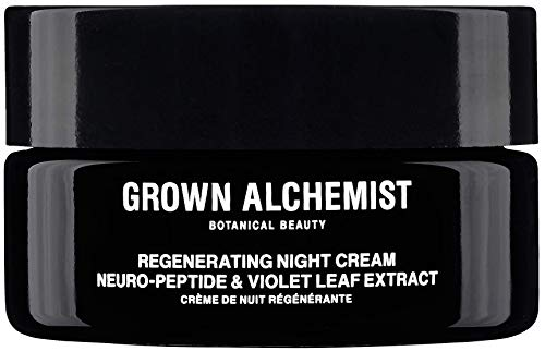 Grown Alchemist Regenerating Night Cream - Neuro-Peptide & Violet Leaf Extract (40ml / 1.35 oz)