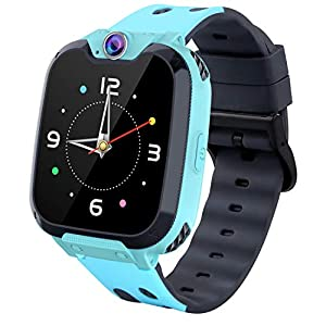 Smart Watches for Kids,HD Touch Screen Sports Smartwatch Phone with Call Camera Games Recorder Alarm Music Player for…