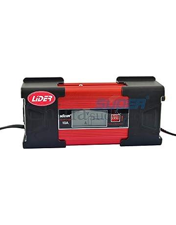 LIDER-Cargador de bateria Coche 10A 12V Super Nuevo Diseño Mantinimiento Automatico Electronico Controlado por