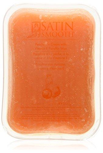 Satin Smooth Paraffin Wax, Peaches and (Satin Smooth Moisturizing Moisturizer)
