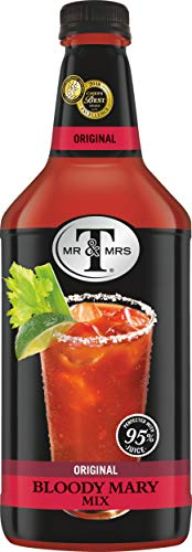 Mr & Mrs T Original Bloody Mary Mix, 1.75 Liter Bottle (Pack of 6)