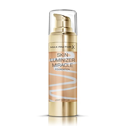 (Max Factor Skin Luminizer Miracle Foundation-No.40 Light Ivory)