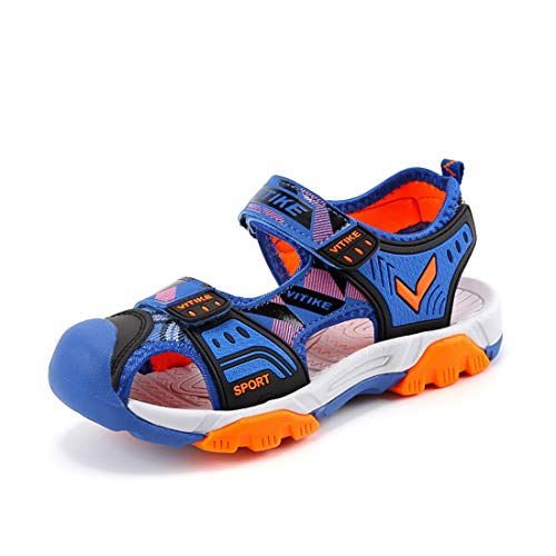 WETIKE Kids Sandals Summer Water Shoes Boys Outdoor Sneaker Sandals Sports Shoes Girls