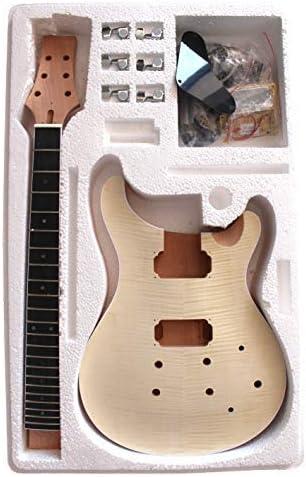 Caoba Cuerpo con Flameado Arce Chapa Pr-F Top Guitarra Eléctrica ...