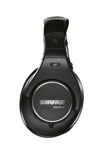 Shure-SRH840-Professional-Monitoring-Headphones-Black
