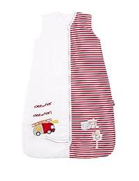 Slumbersafe Baby Sleeping Bag 2.5 Tog - Fire Engine, 0-6 months/SMALL