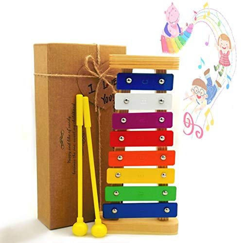 JRD&BS WINL Xylophone for kids,The First Birthday Gift for kids 1-3 Year Old Girl,Boys,Musical Kid Toy for Kids for 4-8 Year Old Boys Gift,Whith Two Child-Safe Mallets for 2-6 Year Old for Making Fun by JRD&BS WINL