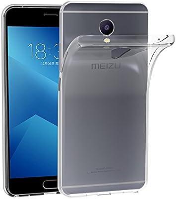 ivoler Funda Carcasa Gel Transparente para Meizu M5 Note, Ultra ...