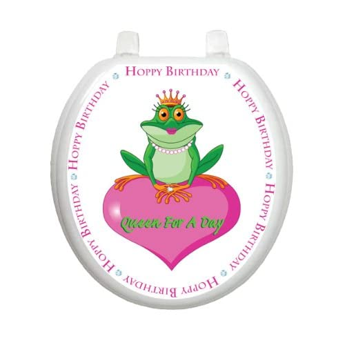 70%OFF Queen For A Day TT-0005-R Round Whimsical Girls Birthday Cover Bathroom