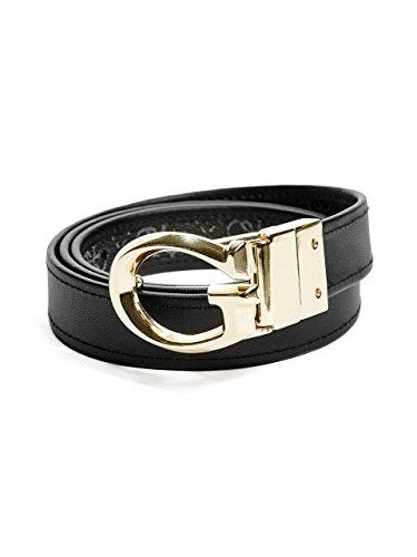 GUESS Reversible Logo Belt (Womens Logo Belt)