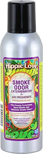 (Smoke Odor Exterminator 7oz Large Spray, Hippie Love)