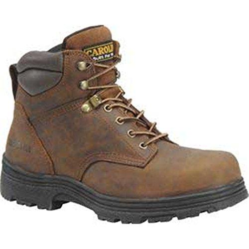 Carolina Men's 6 Inch Waterproof Steel Toe Work Boot Copper Crazy Horse Lthr 11.5 D US