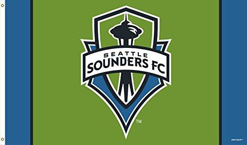 Seattle Sounders | Soccer Fan Flag 5 x 3'' | Premium Grade by WC
