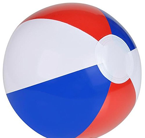 12'' PATRIOTIC BEACH BALL, Case of 288 by DollarItemDirect