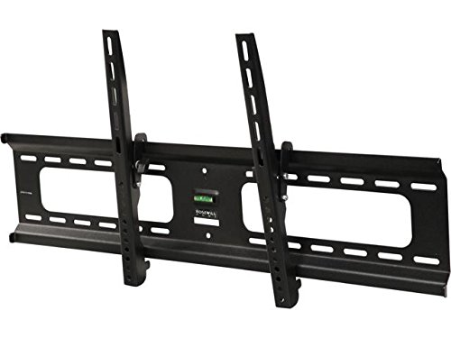 Tilting Profile Low Lcd - Rosewill Heavy Duty Low Profile Tilting TV Wall Mount for Most 37 to 90 Inch LED LCD Flat Screen Monitor up to 165 lb VESA 800x400 mm TV Bracket, RHTB-17005