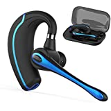 Bluetooth Headset,Wireless Earpiece V4.1Hands Free Microphone for Business, Office,Driving(Black-A1)