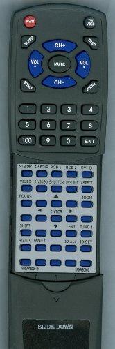 PANASONIC Replacement Remote Control for PTDW6300U, PTD6000U, PTD4000U, PTD5700U