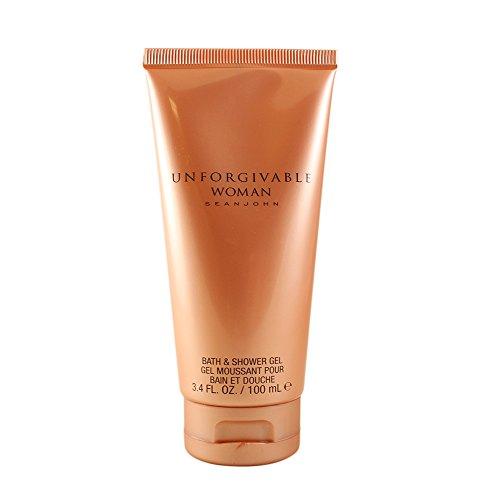 - Sean John Unforgivable Woman Bath & Shower Gel for Women, 3.4 Ounce