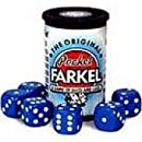 Original Pocket Farkel Dice Game - Miniature Set - Colors May Vary