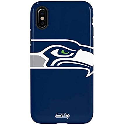 huge discount b24b0 3b427 Seattle Seahawks iPhone Xs Max Case - NFL | Skinit Pro Case, Scratch  Resistant iPhone Xs Max Cover