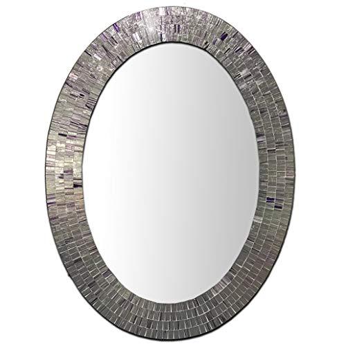 Bohemian Rhapsody Wall Mirror -Purple Rain - Glass Mosaic Decorative Wall Mirror, -