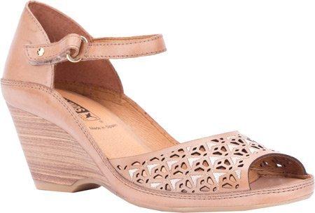Pikolinos Womens Capri Wedge Sandal B0156D14QO 41 M EU / 10.5-11 B(M) US Nude