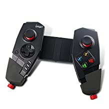 PG-9055 Red Spider Bluetooth 3.0 Gamepad Deformation grip Game Gaming Controller Wireless Telescopic Stand Joystick for IOS Iphone 6/6s Android Smartphone/Tablet Windows PC TV BOX