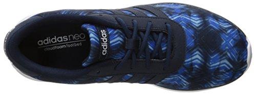 adidas Neo Damen Lite Racer W Casual Sneaker Collegiate Navy / Collegiate Marine / Weiß