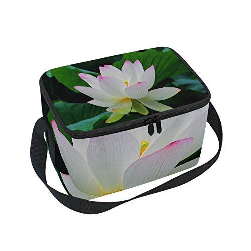 SLHFPX Lunch Tote Taj Mahal Palace Colorful Oil Painting Mens Insulated Lunch Bag Zipper Kids Lunch Box