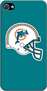Miami Dolphins iPhone 4-4S Case v2 3102mss