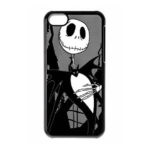DIY Printed The Nightmare Before Christmas hard plastic case skin cover For iPhone 5C SNQ363244