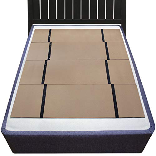 DMI Folding Bunkie Bed Board for Mattress Support, can be used instead of a Box Spring to Streamline and Minimize the Bed or with a Box Spring to Enhance Bed Support, No Assembly Required, Double - Mattress Support