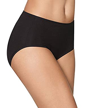 Hanes Women's Smooth Illusions Brief Panties 3-Pack