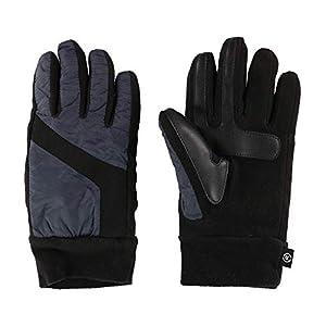 ISOTONER Packable Mens Gloves Winter No Bulk Touchscreen