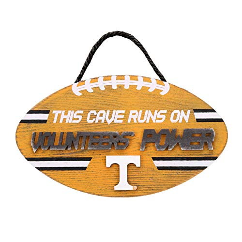 (Forever Collectibles NCAA Tennessee Volunteers Football PowerWood, Team Colors, One Size)